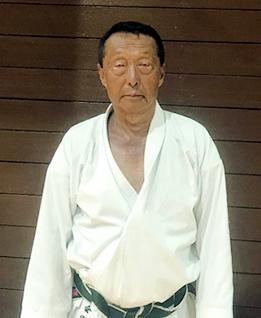 和道流空手道連盟和久井道場 指導員 會田 和夫 Aida kazuo 四段