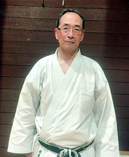 和道流空手道連盟和久井道場 副支部長 我妻 恭 Azuma yasushi 五段