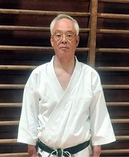 和道流空手道連盟和久井道場 副支部長 西澤 栄一郎 Nisizawa eiichiro 六段