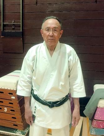 和道流空手道連盟和久井道場 師範 和久井 健次 wakui kenzi 範士八段